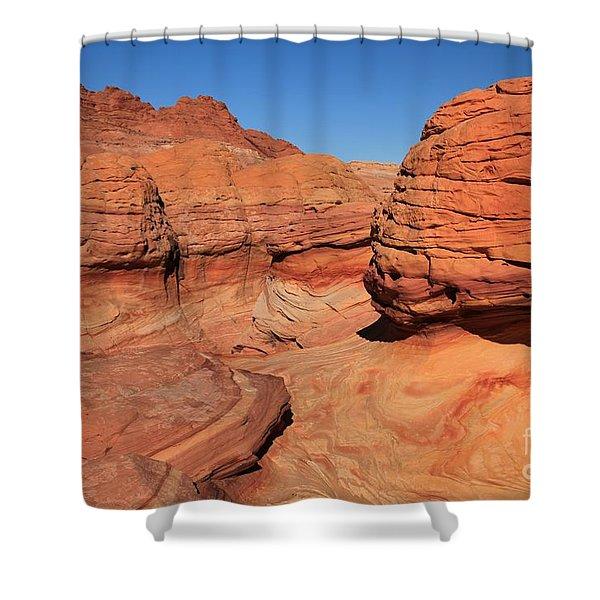 Sandstone Muffins Shower Curtain