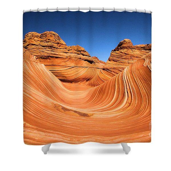 Sandstone Surf Shower Curtain