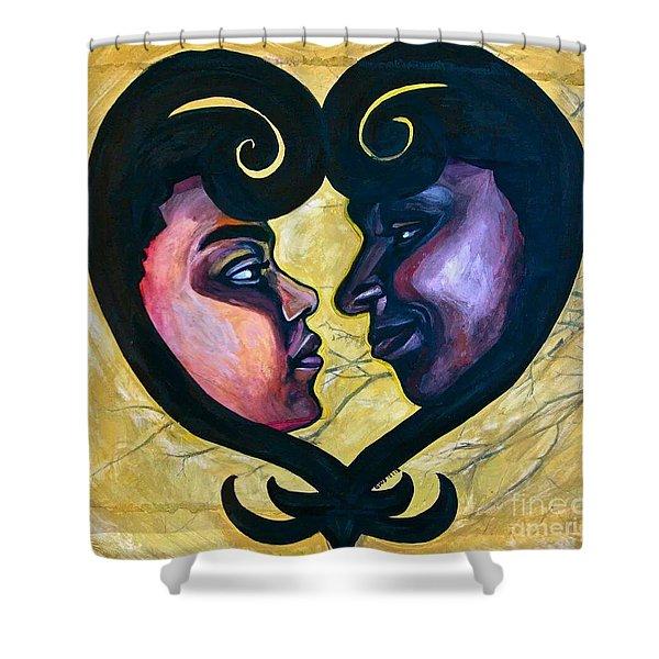 Sankofa Love Shower Curtain