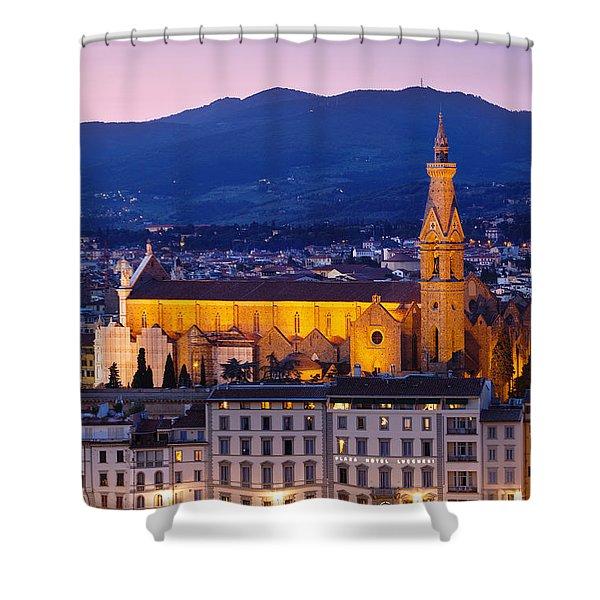 Santa Croce Shower Curtain