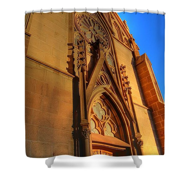 Santa Fe Church Shower Curtain
