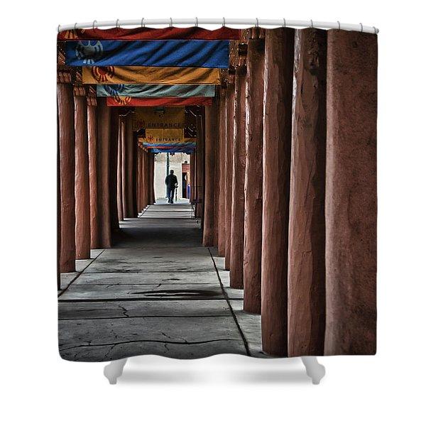 Santa Fe Nm 4 Shower Curtain