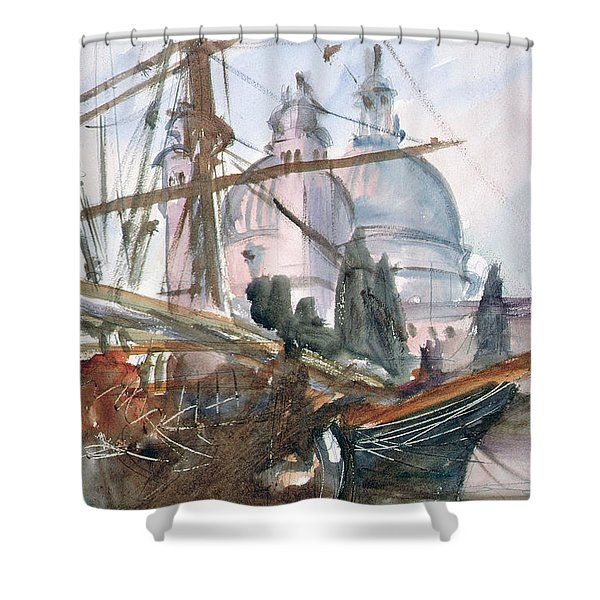 Santa Maria Della Salute, Venice Wc Shower Curtain