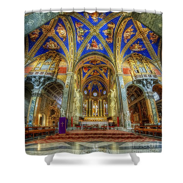 Santa Maria Sopra Minerva 2.0 Shower Curtain