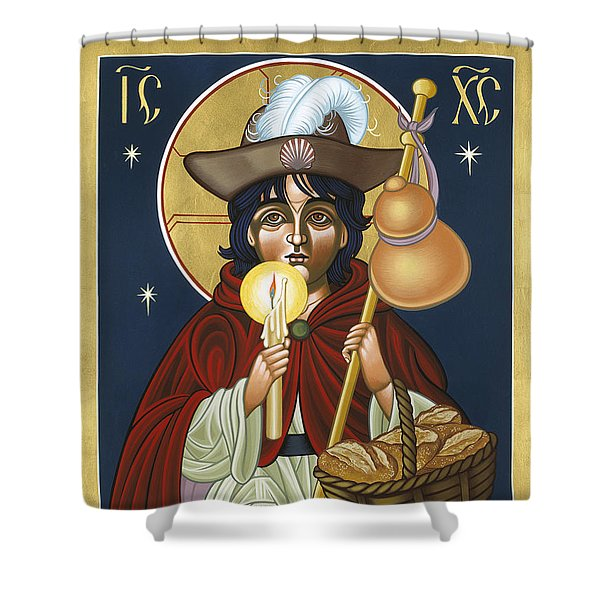 Santo Nino De Atocha 133 Shower Curtain