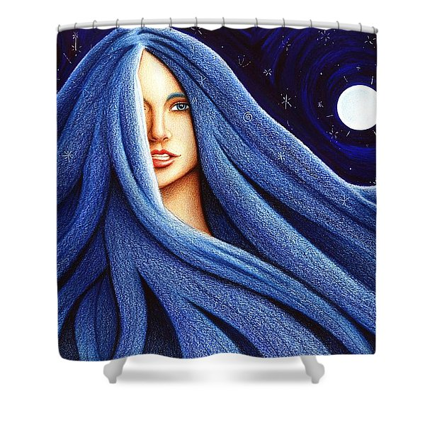 Sapphyre Shower Curtain
