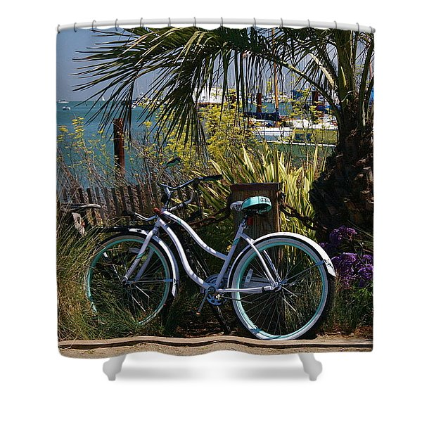 Sausalito Summer Shower Curtain