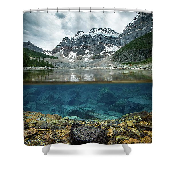 Scenes From Consolation Lake Shower Curtain