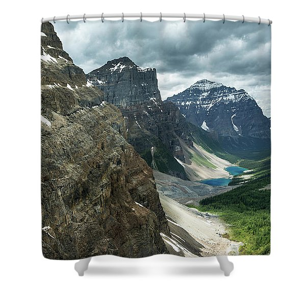 Scenes From Consolation Pass Shower Curtain