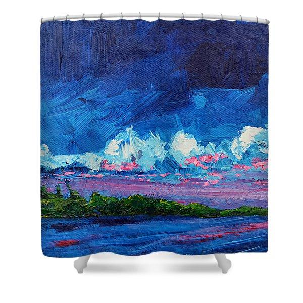 Scenic Landscape  Shower Curtain