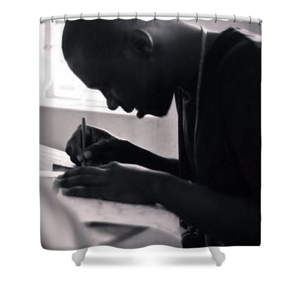 School Of Design, Nigeria Shower Curtain