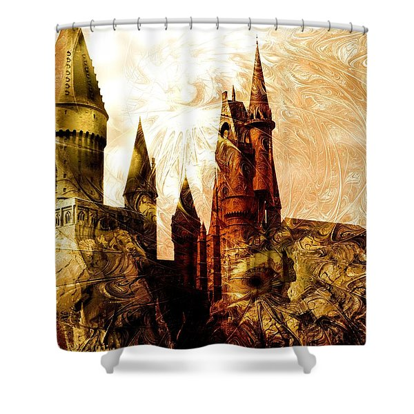 School Of Magic Shower Curtain