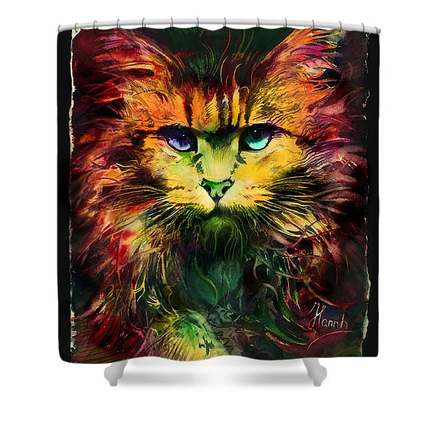 Schrodinger's Cat Shower Curtain