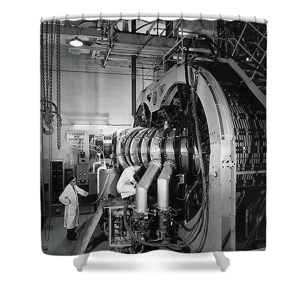Scientists Make Fusion Advance Shower Curtain