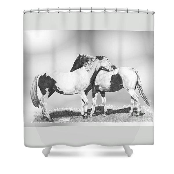 Scratch Shower Curtain