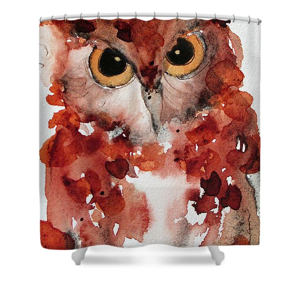 Screech Shower Curtain