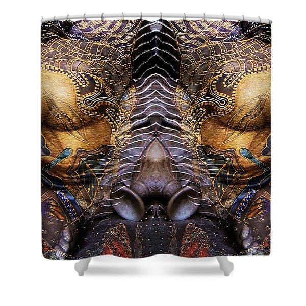 Sculpture 1 Shower Curtain