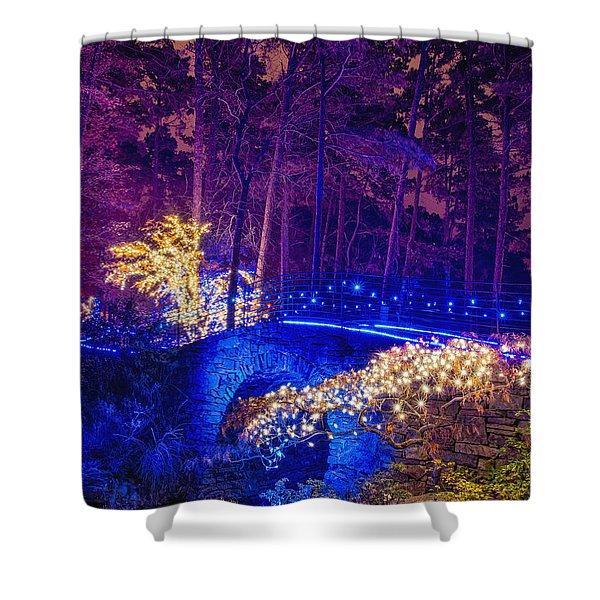 Stone Bridge - Crop Shower Curtain