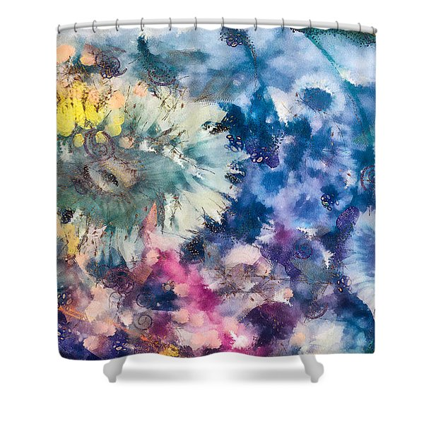 Sea Anemone Garden Shower Curtain