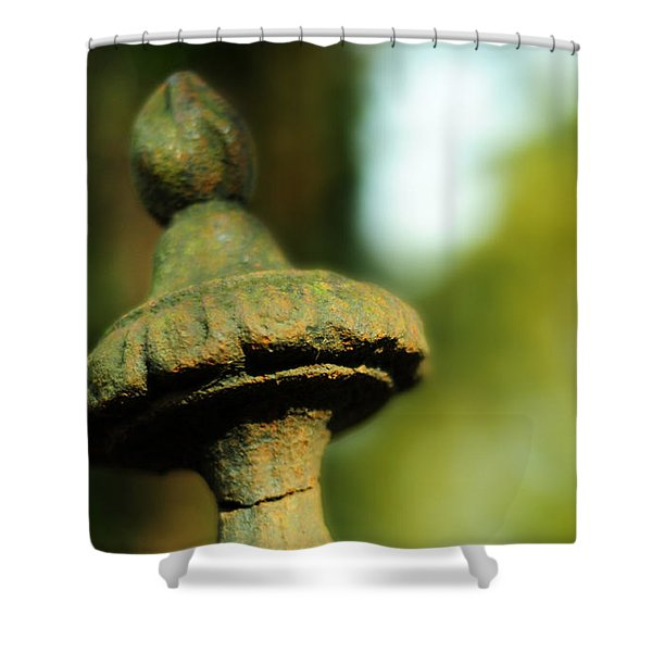 Sea-dews Pearls And Rubies Shower Curtain