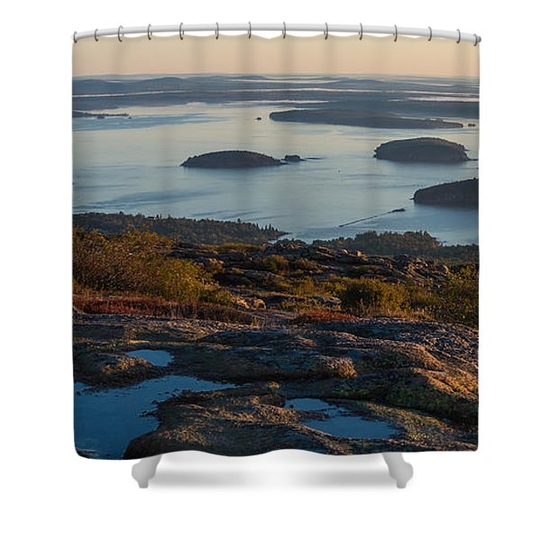 Sea Dots Shower Curtain