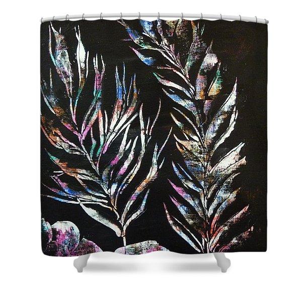 Sea Ferns Shower Curtain