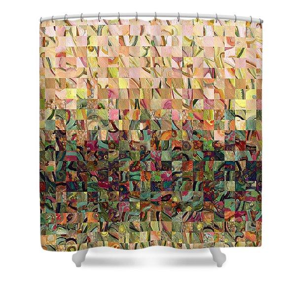 Sea Foam Serenade Shower Curtain