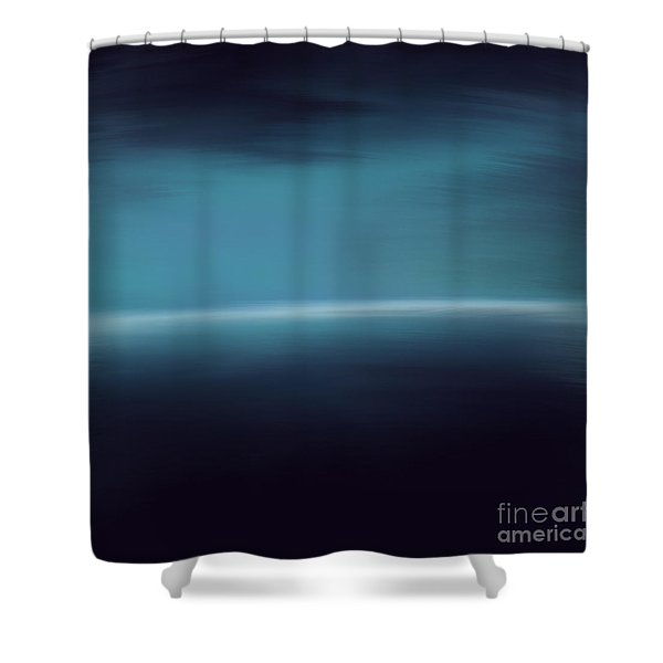 Sea Of Light Shower Curtain