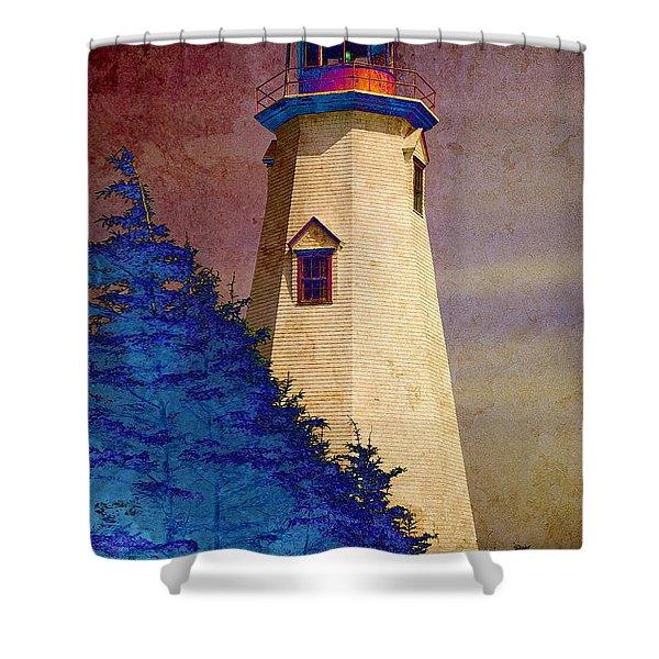 Seacow Head Lighthouse 2 Shower Curtain