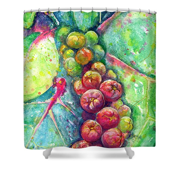 Seagrapes Shower Curtain