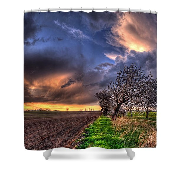 Seaker Shower Curtain