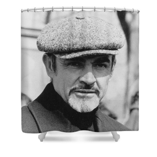 Sean Connery Shower Curtain