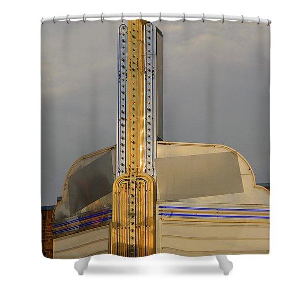 Seattle Theatre Shower Curtain