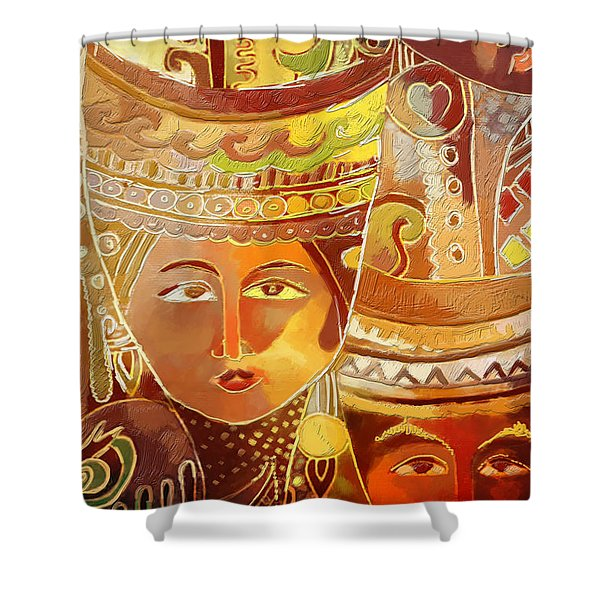 Second Face Shower Curtain