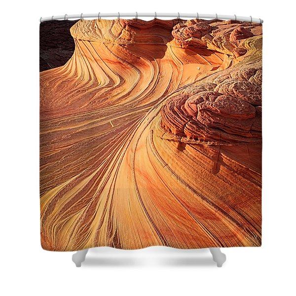 Second Wave Flow Shower Curtain