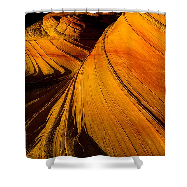 Second Wave Shower Curtain