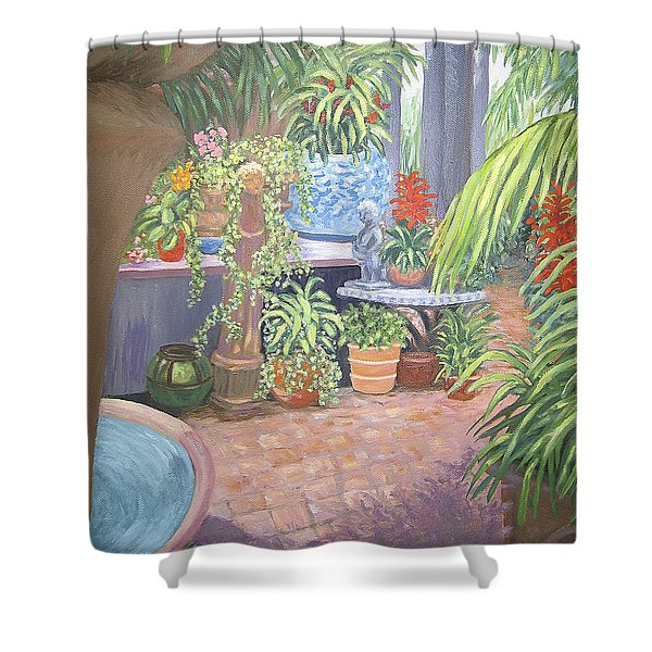Secret Garden Shower Curtain