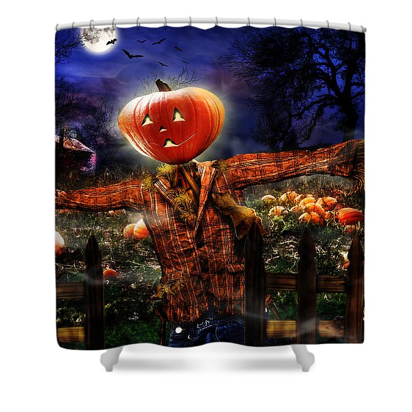 Secrets Of The Night Shower Curtain