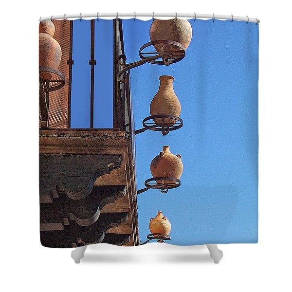 Sedona Jugs Shower Curtain
