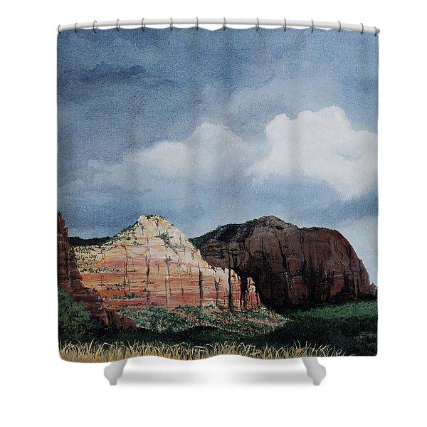 Sedona Storm Shower Curtain