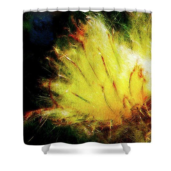 Seedburst Shower Curtain