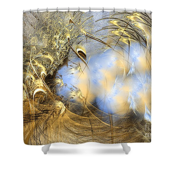Seeds Of Peace -abstract Art Shower Curtain