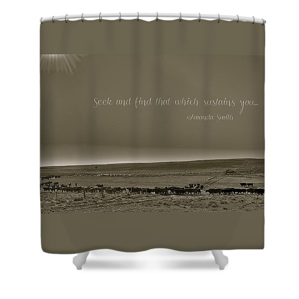 Seek And Find Shower Curtain