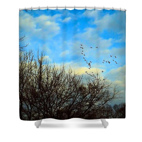 Seize The Day Shower Curtain