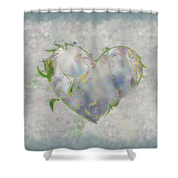 Sending Out New Shoots Shower Curtain