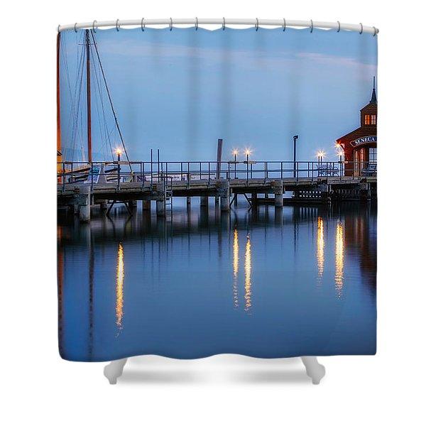 Seneca Lake Shower Curtain
