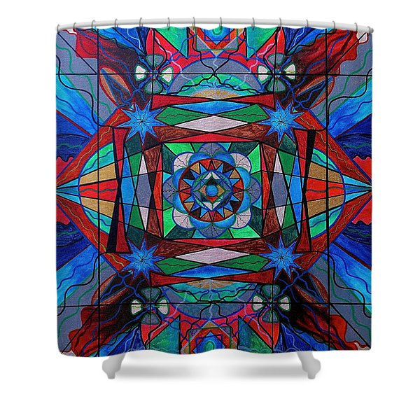 Sense Of Security  Shower Curtain