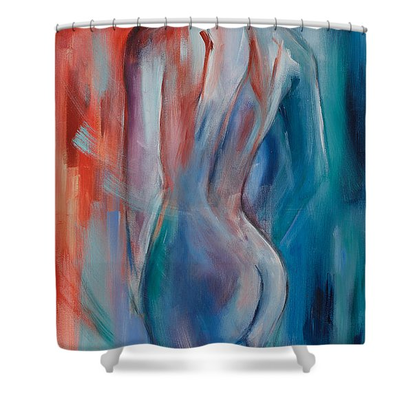 Sensuelle Shower Curtain