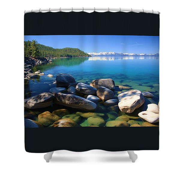 Shower Curtain featuring the photograph Serenity by Sean Sarsfield