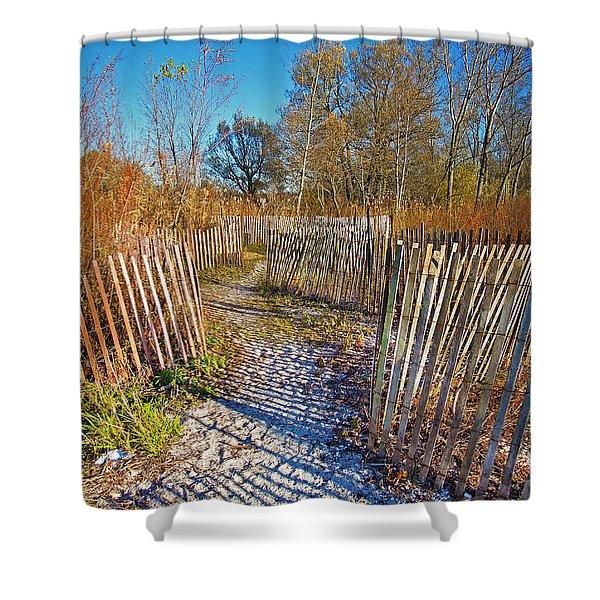 Serenity Trail.... Shower Curtain